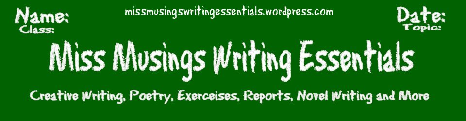 grab button for Miss Musings Writing Essentials